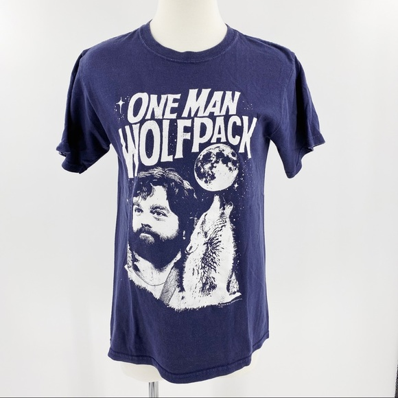 """The Hangover """"one man wolfpack"""" graphic tee"""